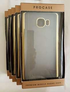PROCASE FOR SAMSUNG GALAXY C7 GOLD PREMIUM MOBILE PHONE CASE