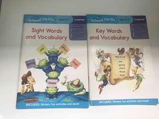 Disney School Skills book
