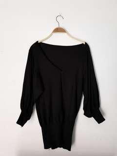 Baju rajut black