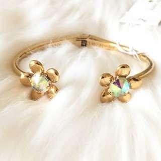 Kate Spade New York Sunset Blooms Cuff Bracelet (LAST INSTOCK)