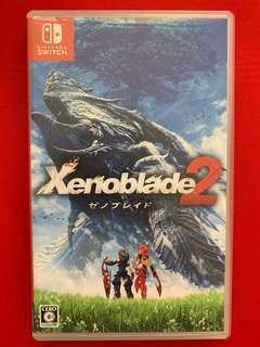 Nintendo swtich Xenoblade 2 日版有中文