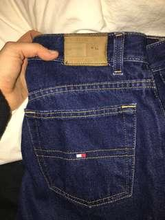 Retro tommy cut off jeans