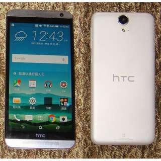 HTC One E9 dual sim 16G 八核心處理器 白色