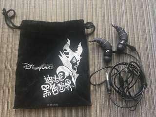 迪士尼樂園🏰黑色世界耳筒