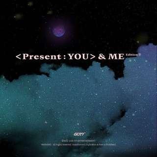 [SG GO / EMS ALBUM PO] GOT7 PRESENT : YOU AND ME EDITION ALBUM