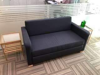 SOFA folds out into bed - like NEW