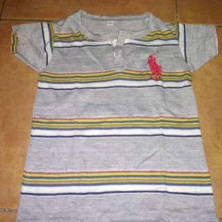 #jualanibu kaos anak warna abu2 cocok untuk 1 hingga 2 tahun