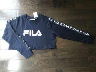 FILA cropped sweater