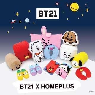 [G.O] BT21 X HOMEPLUS ITEMS