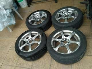 Rim15 inch with tyre