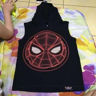 Spider Man Top with Hood