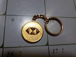 HSBC 匯豐銀行鎖匙扣