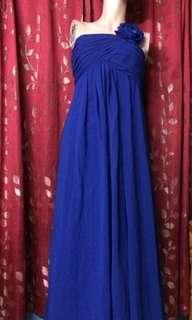 Prom/Dinner Royal Blue Dress