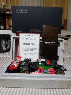 Autoart Mazda 787B LeMans Winner 1991 Ltd Ed.