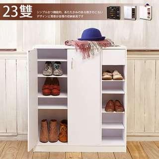 (魔手坊)M-北歐白六層鞋櫃/鞋架/櫃子/隔間櫃/玄關櫃/斗櫃/置物櫃/櫥櫃/MIT台灣製