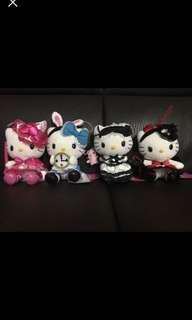 可愛Hello Kitty 公仔(一套)