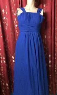 Dinner/Prom Purple Blue Dress