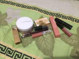 TAKE ALL (10 ITEMS) ONLY 200K (Wardah,Emina, Wet n Wild, Purbasari, Maybelline, Caring)