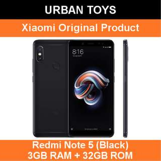 Xiaomi Redmi Note 5 / 3GB + 32GB / Black / AI Dual Camera
