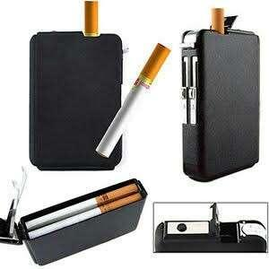 Personalized Cigarette Case with Lighter