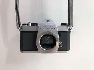 Asahi Pentax Spotmatic SP1000 35mm SLR Film Camera Silver