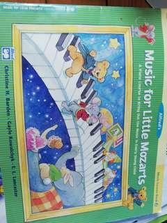 MUSIC FOR LITTLE MOZART