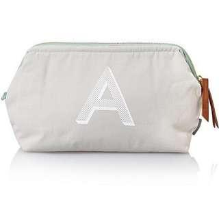 Alphabet Wash Bag Travel Pouch Padded Toiletries Bag