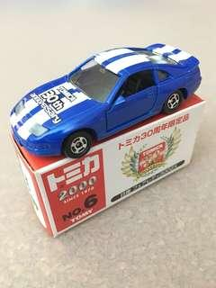 Tomica No6 Nissan Fairlady 300ZX Blue 30th Anniversary Tomy Car