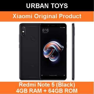 Xiaomi Redmi Note 5 / 4GB + 64GB / Black / AI Dual Camera