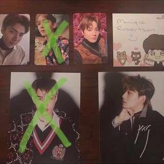 WTS - Exo Tempo Postcard (Chen/Jongdae)