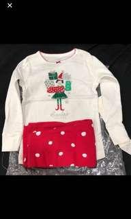 Carters Christmas pajama set 3b28faf5f