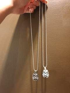 Star Wars Couple Necklace