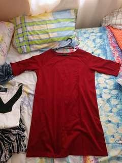 Red Casual to Semi formal dress