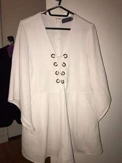 Mirrou White Dress