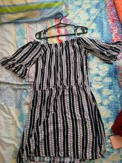 Casual printed dress XL. no apologies