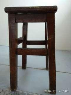 Vantage Wooden Stool more than 50years