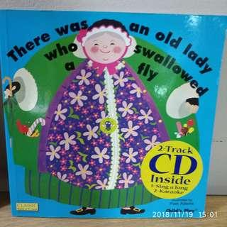 🚚 There was an old lady who swallowed a fly with CD