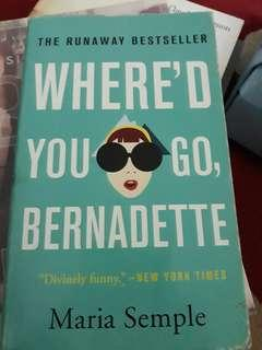 Novel Where'd you go,Bernadette