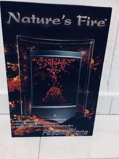 Lava Lamp Nature's Fire Fascinations Aquarium Style Includes Adapter