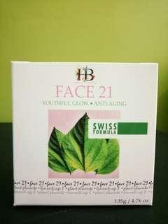 Face 21 - Pinkish Glowing Skin, Anti-Aging