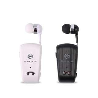 🚚 WK Design Clip-On Bluetooth Wireless Headset Earpiece