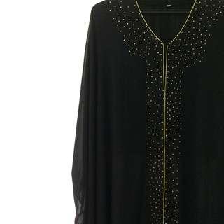 Quftan Abaya Outerwear #PESTA1111