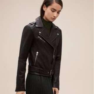XXS Smooth leather Aritzia Mackage Rumer Jacket