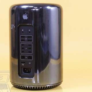 狂降3千 Apple Mac Pro 6,1 E5 3.5G六核 /SSD 雙GPU 保內 A1481 高級蘋果牌骨灰罈