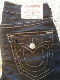 Authentic TRUE RELIGION Jeans Black