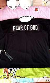 Brand New Fear Of God Fifth Collection Black Jesery.