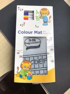 Brand New Colour Mat with markers