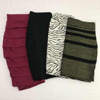 Skirts set for P250