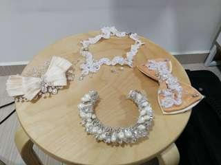 Bridal wear accessories