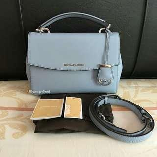 Michael kors ava small pale blue